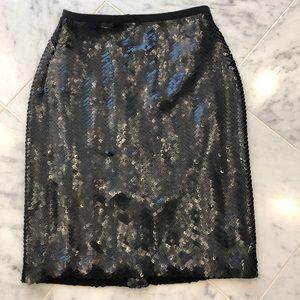 JCrew Factory Sequin Skirt Size 00